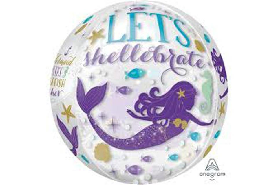 Mermaid balloon Boutique Party Shop