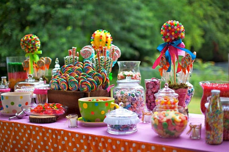 Candy Bar Colorful Triki Fun