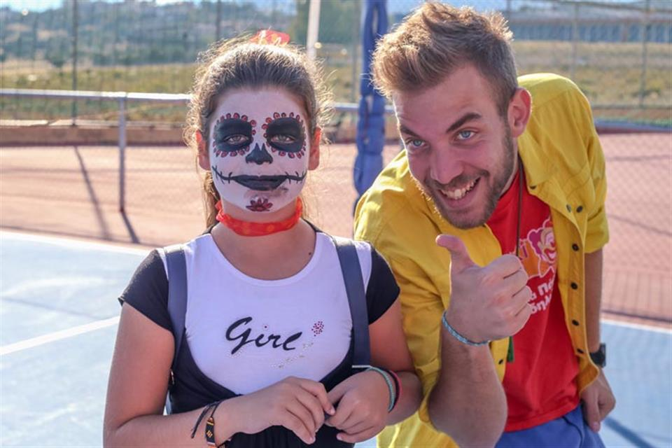Halloween Face Painting Triki Fun