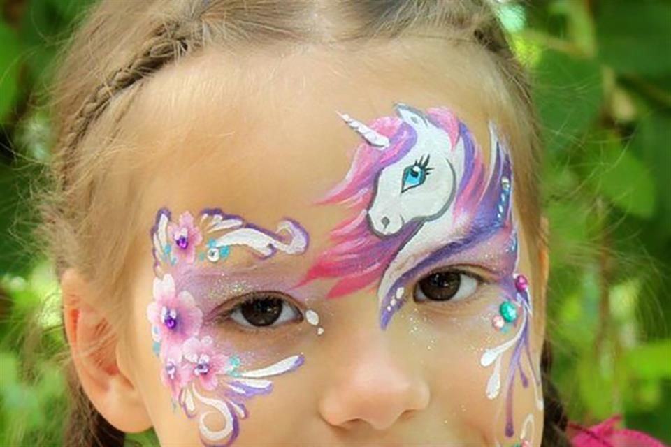 Party Mονόκερος Face painting by TrikiFun