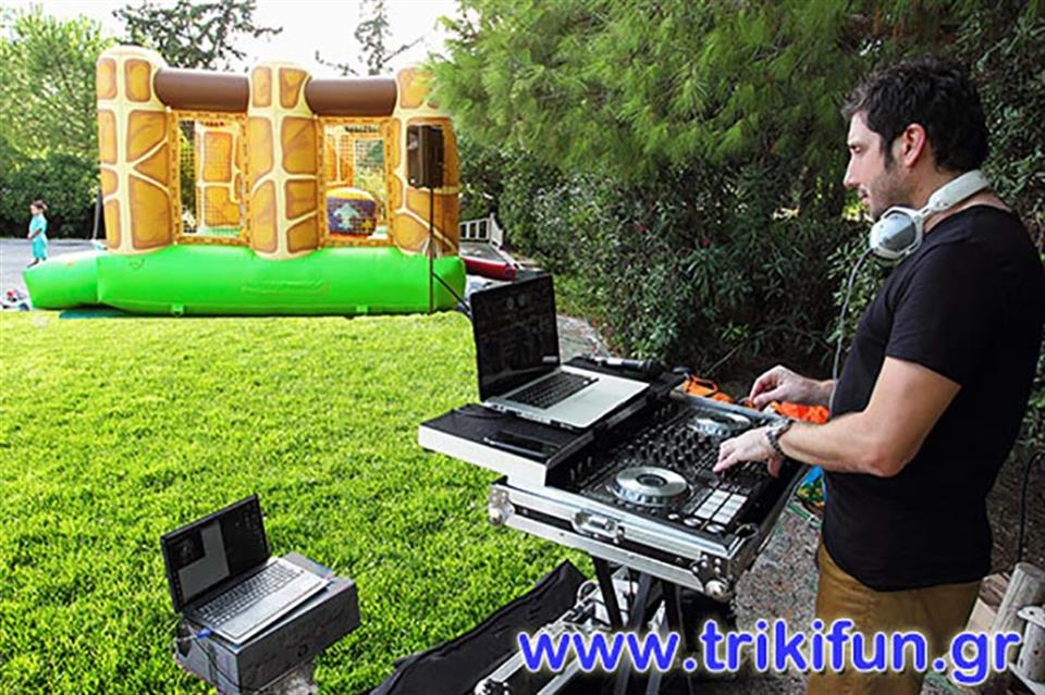DJ-Party-Summer-Athens Triki Fun