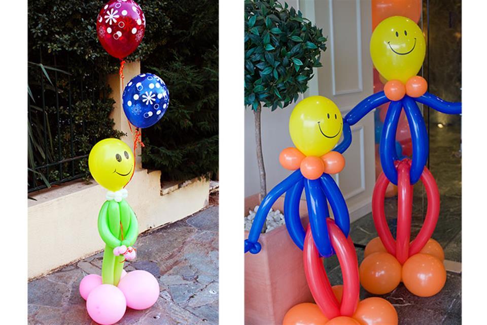 Smiley Happry People Balloons by Triki Fun