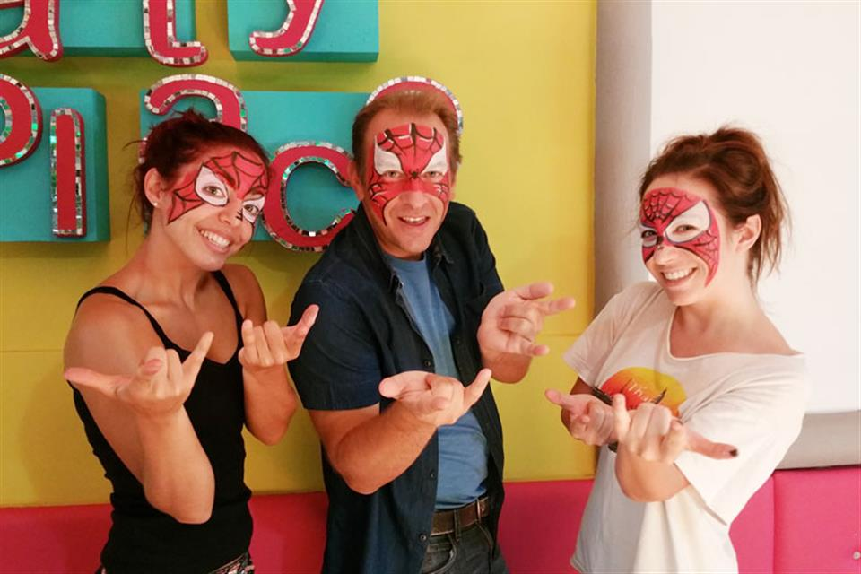 Face Painting Theme Party Triki Fun