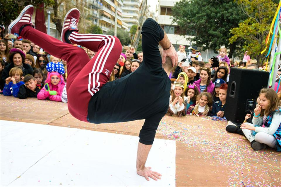 Breakdancers for Parties Athens Greece Triki Fun