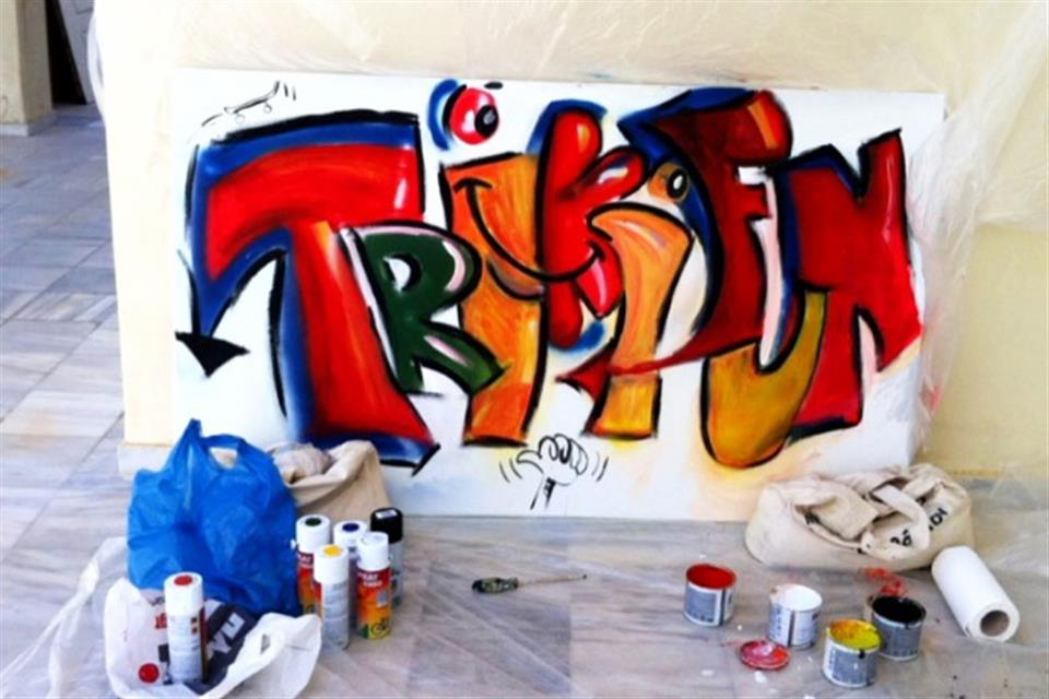 Grafitti by Triki Fun
