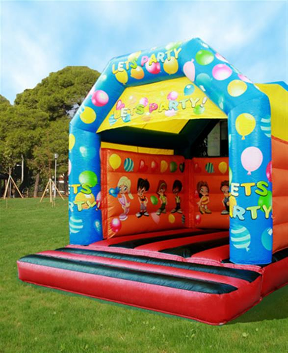 Inflatable Lets Party Fouskoto Triki Fun